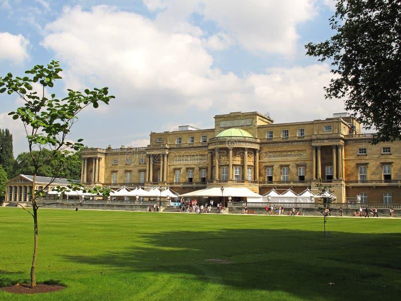 Buckingham Palace Garden View Stock Image - Image of ...