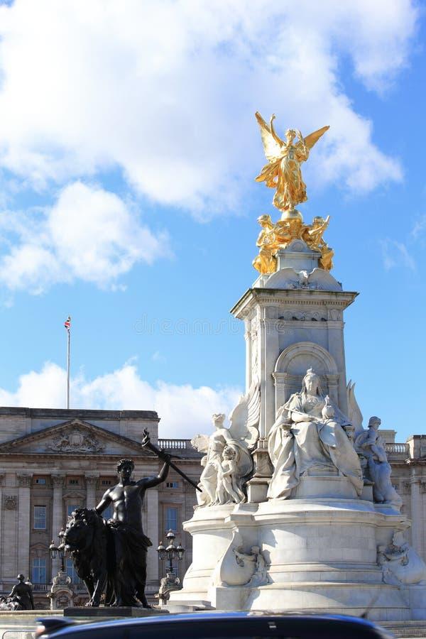 Buckingham Palace hermoso fotos de archivo libres de regalías