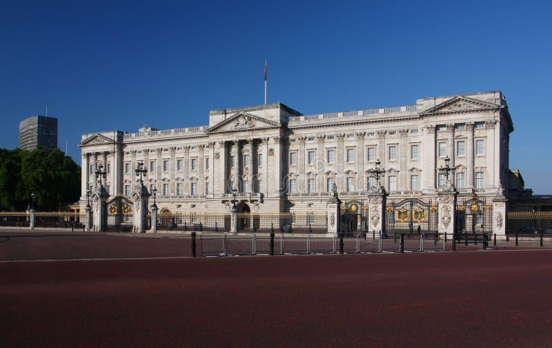 Buckingham Palace in Londen royalty-vrije stock afbeeldingen