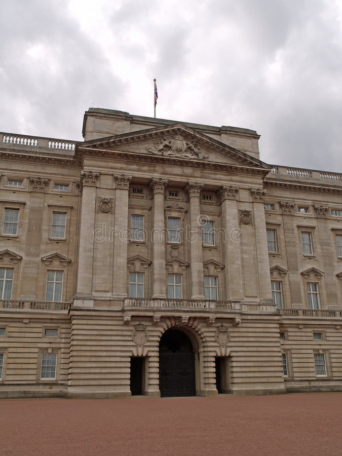 Buckingham Palace, Londen royalty-vrije stock foto