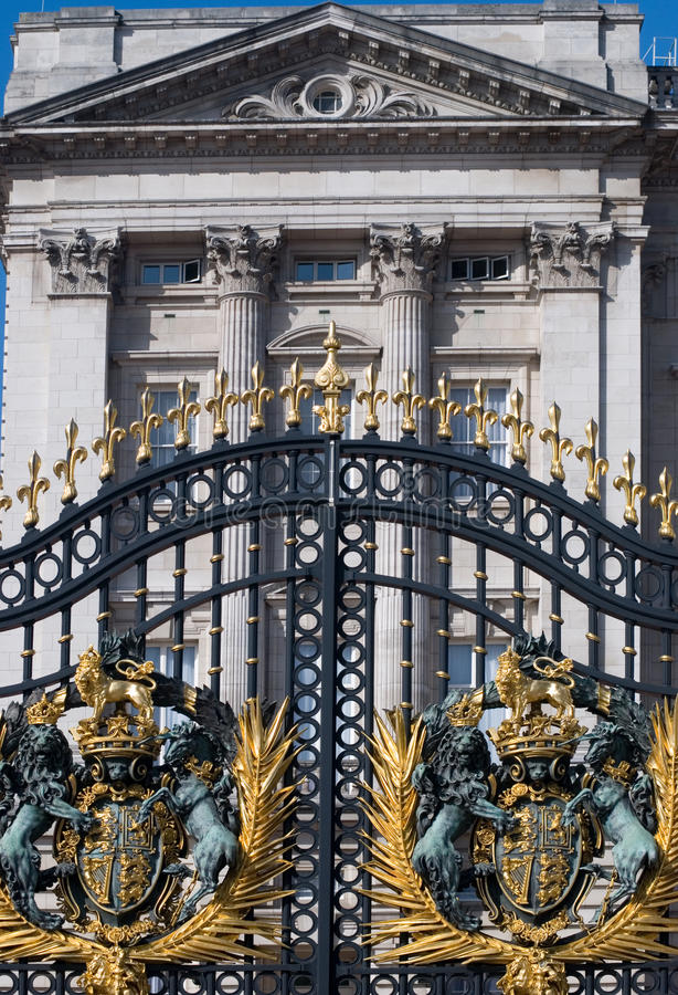 Buckingham palace London stock photography