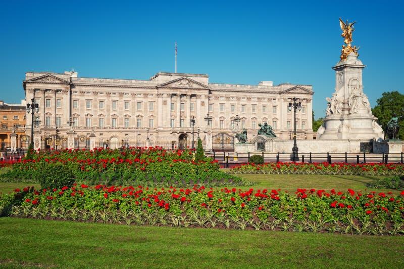 Buckingham Palace, London stockbilder