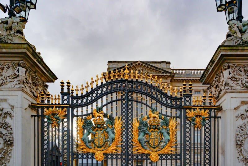 Buckingham Palace, London, England royalty free stock image