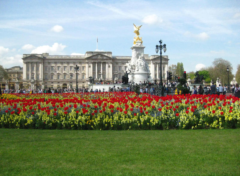 Buckingham Palace, London - Stock Image stock image