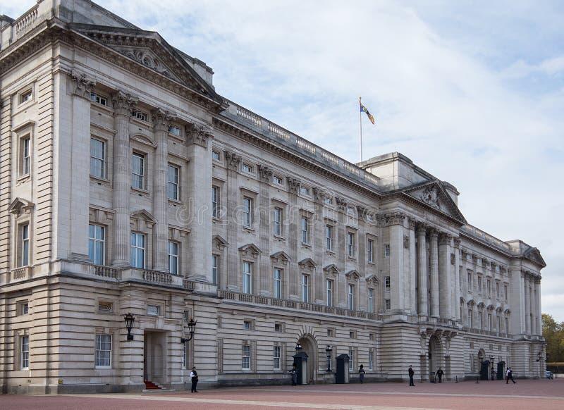 Buckingham Palace Londres fotografía de archivo libre de regalías