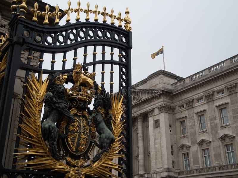 Buckingham Palace, Londres fotografia de stock royalty free