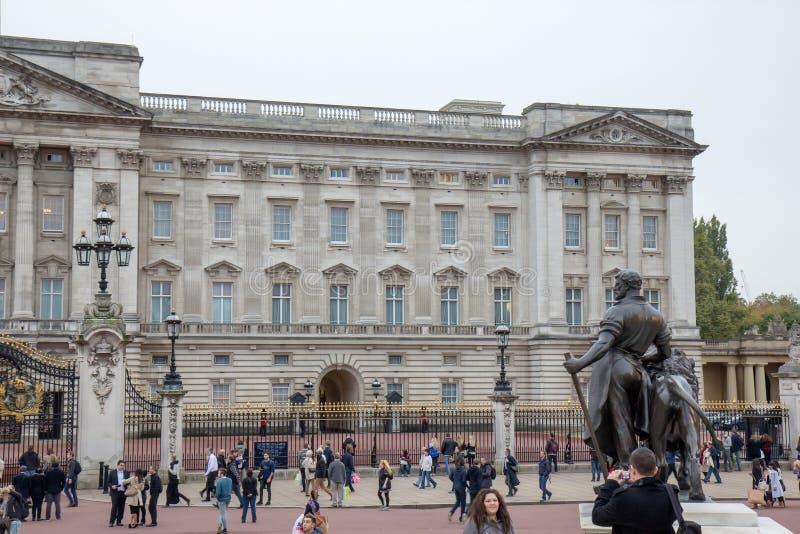 Buckingham Palace, Londres fotos de archivo libres de regalías