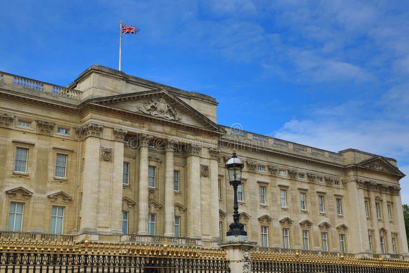 Buckingham Palace, Londres, Inglaterra fotografia de stock