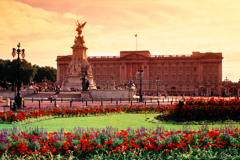Buckingham Palace, Londres, Reino Unido foto de stock
