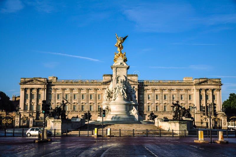 Buckingham Palace. Sunny day at Buckingham Palace stock image