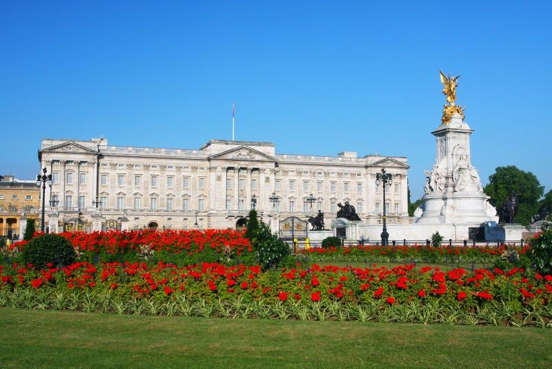 Buckingham Palace w Londyn zdjęcie stock