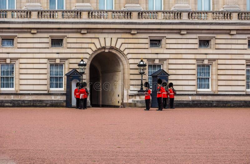 Buckingham Palace w Londyn, hdr obraz royalty free