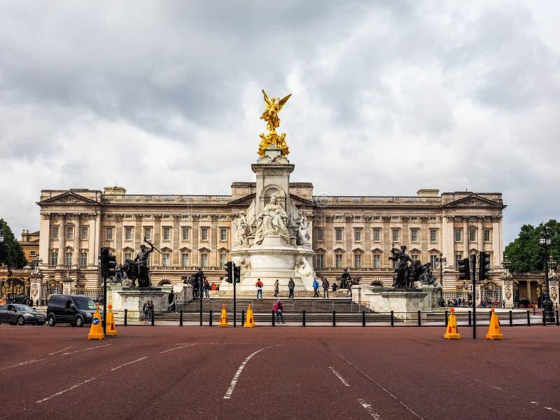 Buckingham Palace w Londyn, hdr zdjęcia royalty free