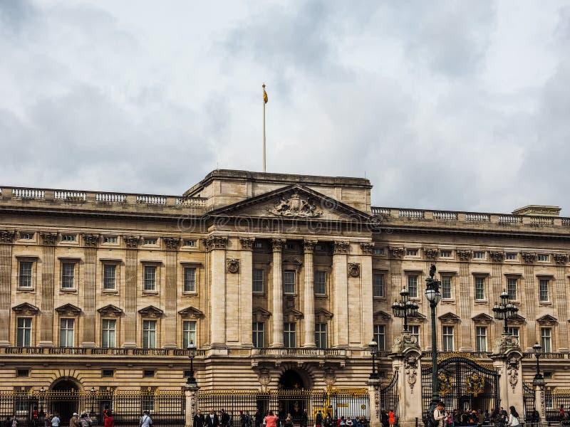 Buckingham Palace w Londyn, hdr fotografia royalty free