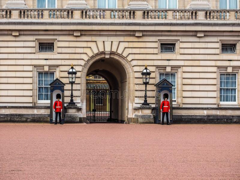 Buckingham Palace w Londyn, hdr obrazy royalty free