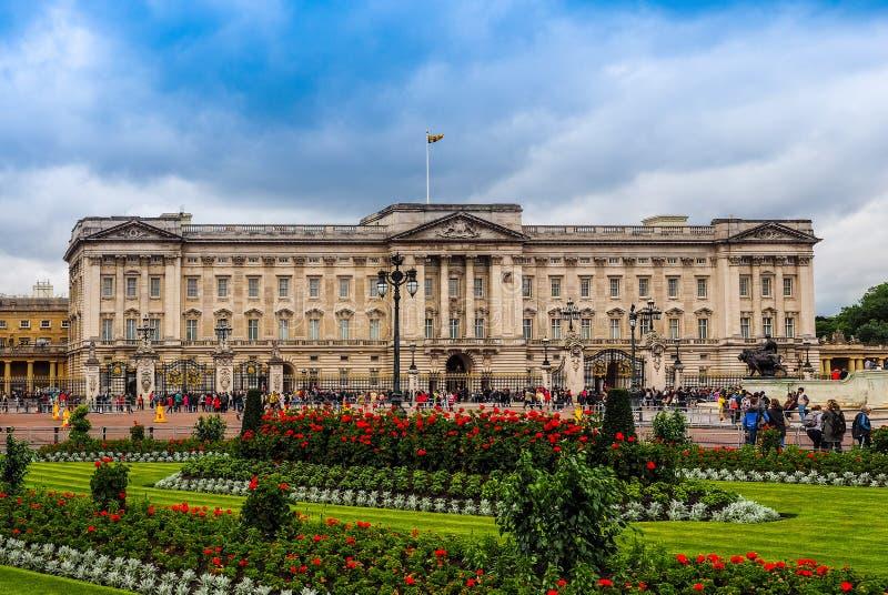 Buckingham Palace w Londyn (hdr) obrazy royalty free