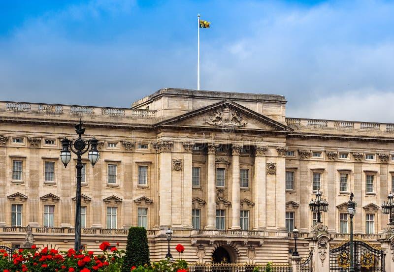 Buckingham Palace w Londyn (hdr) obraz royalty free