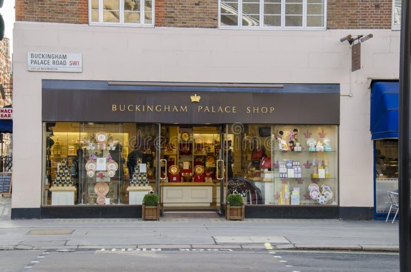 Buckingham Place Shop Editorial Stock Photo