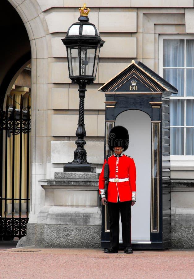 buckingham strażowa London pałac królowa s zdjęcie stock