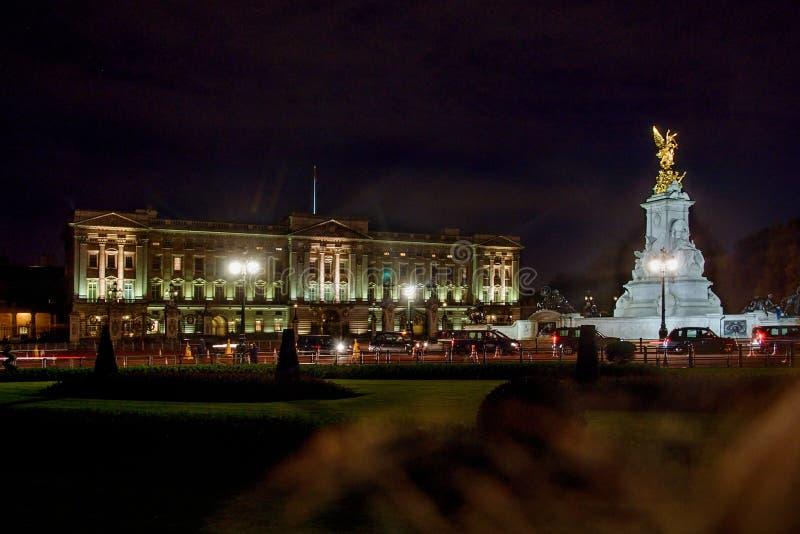 Buckinghampaleis in Londen, Groot-Brittannië stock foto