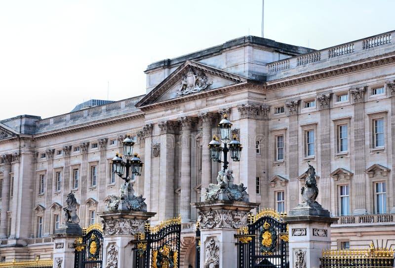 buckinghamslott royaltyfria bilder