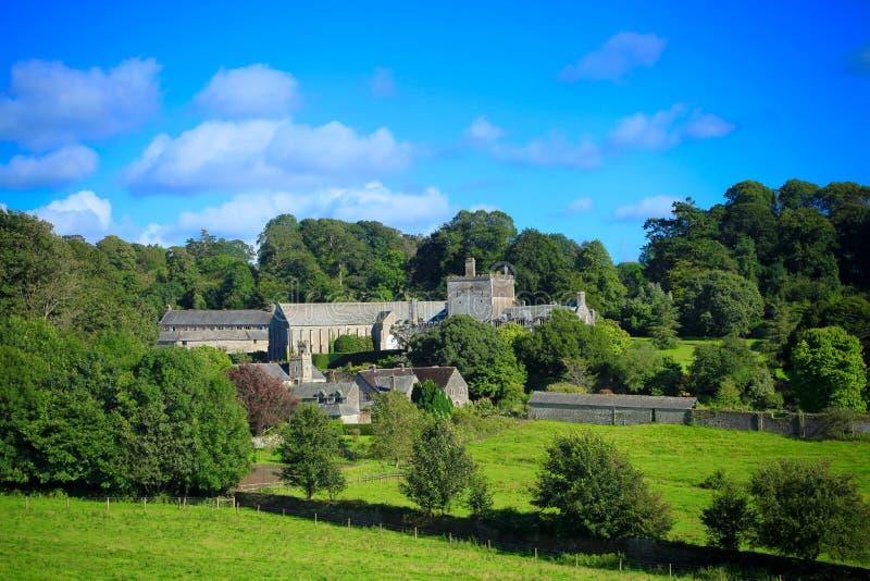 Buckland abbotsklosterdartmoor UK royaltyfria foton