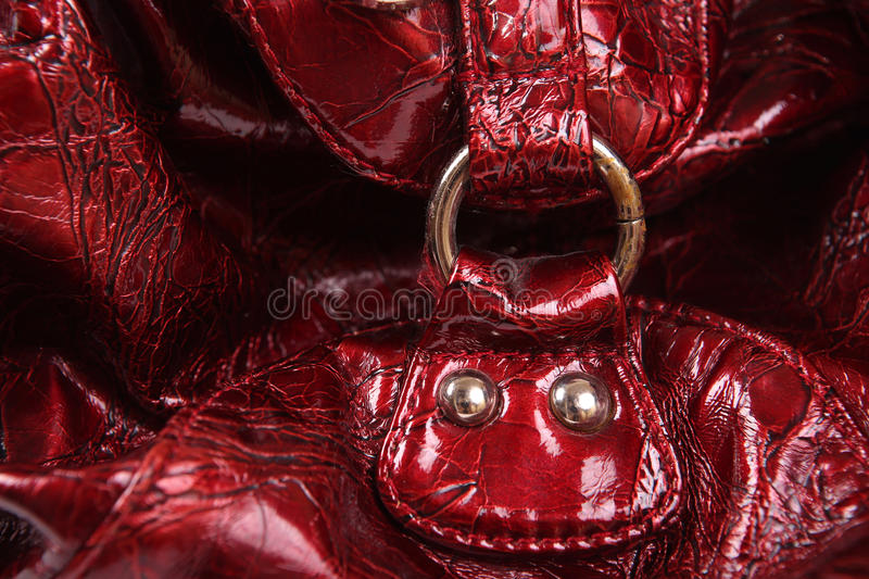 Buckle of a women bag background royalty free stock photos
