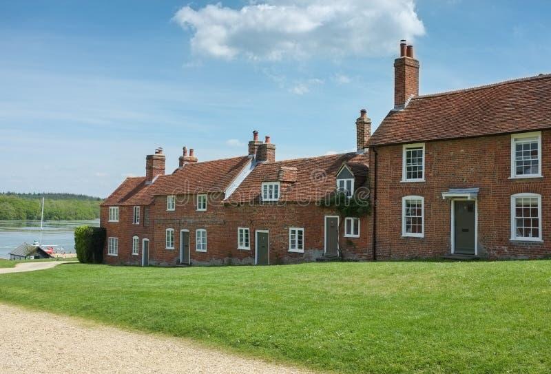 Buckler σκληρά εξοχικά σπίτια, Χάμπσαϊρ, Αγγλία στοκ εικόνα με δικαίωμα ελεύθερης χρήσης