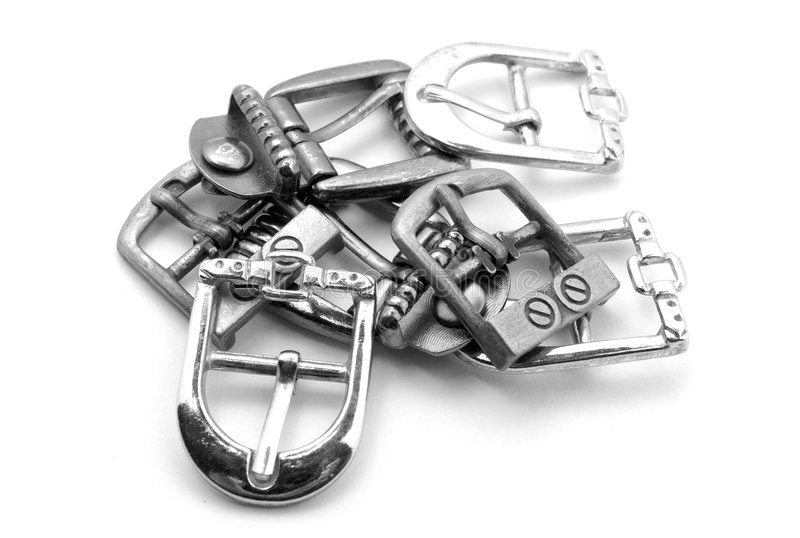 Buckles royalty free stock photography