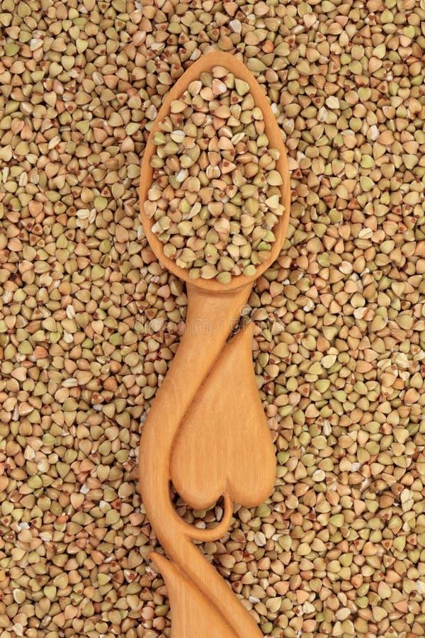 Download Buckwheat stock image. Image of ingredient, spoonful - 25855737