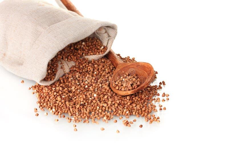 Buckwheat in a bag