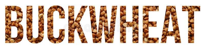 Buckwheat royalty free stock image