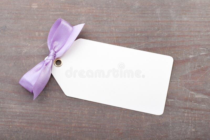 Bucle violeta imagen de archivo libre de regalías