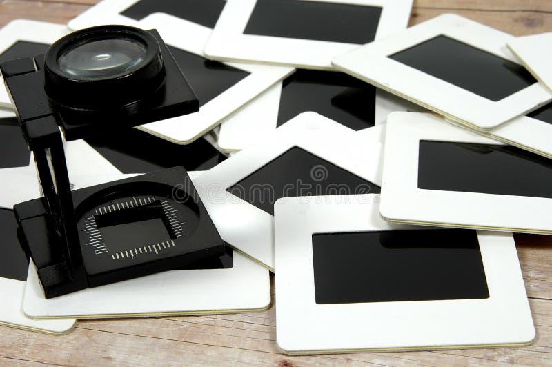 Bucle y diapositivas fotos de archivo libres de regalías