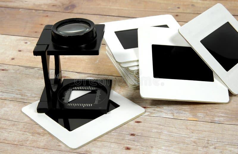 Bucle y diapositivas foto de archivo libre de regalías