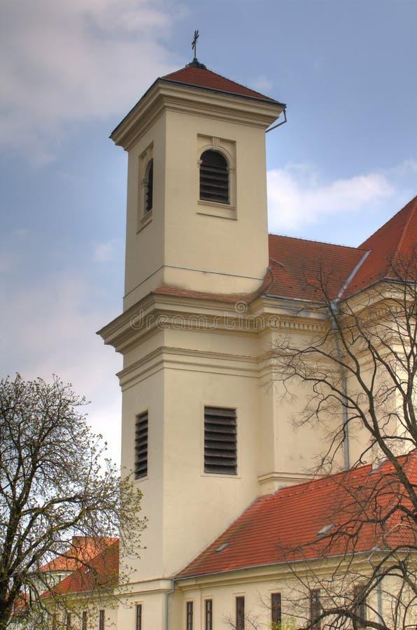 bucovice kościół republika czech obraz royalty free