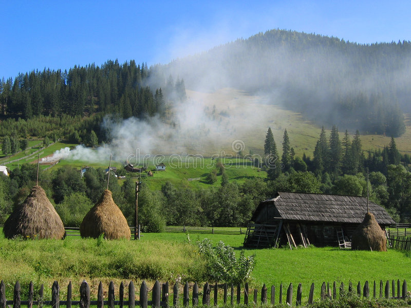Bucovina dream stock images