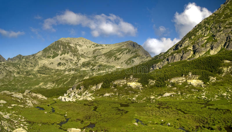 Download Bucura and Retezat summits stock image. Image of retezat - 10313901