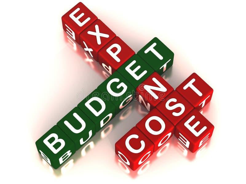 budżet royalty ilustracja