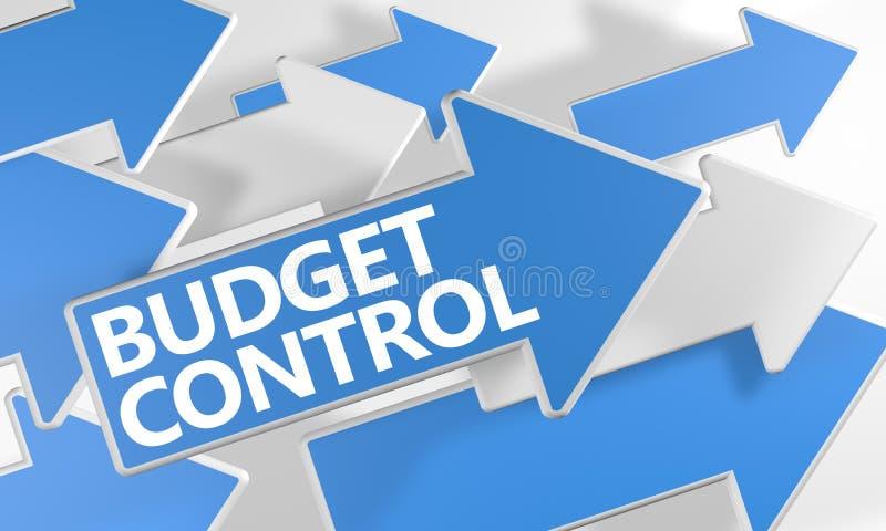 Budżet kontrola ilustracja wektor