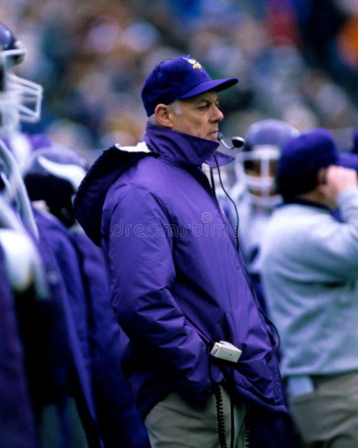 Bud Grant, Minnesota Vikings immagini stock libere da diritti