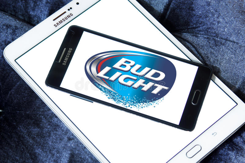Download Bud Light Beer Logo Editorial Stock Image. Image Of Competitors    89676584