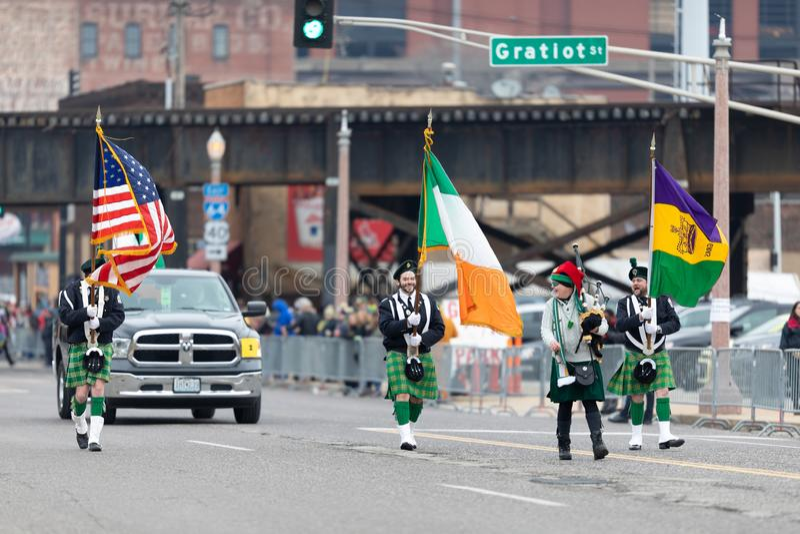 Bud Light Grand Parade imagen de archivo