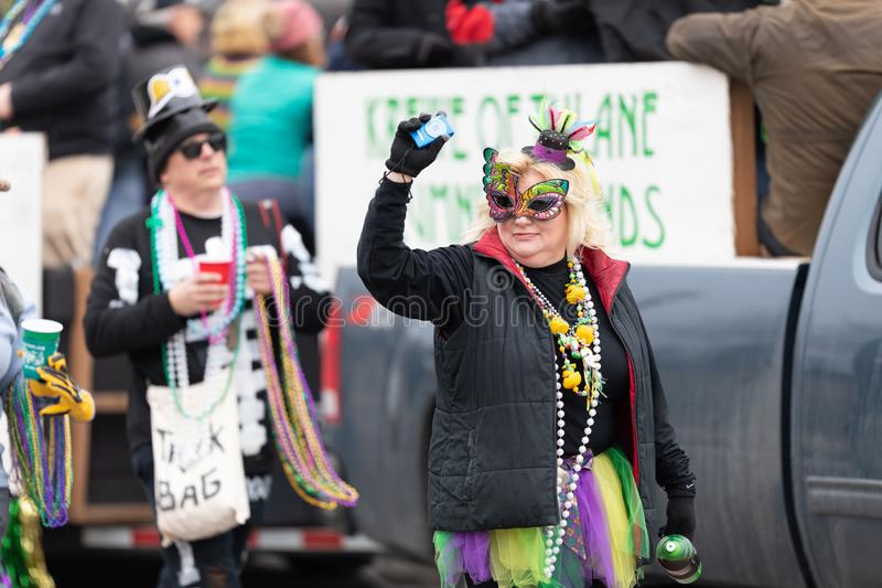 Bud Light Grand Parade royalty free stock photos