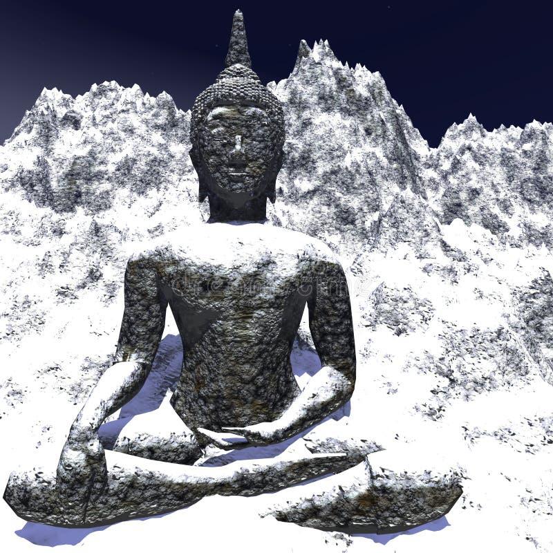 Buda stock de ilustración