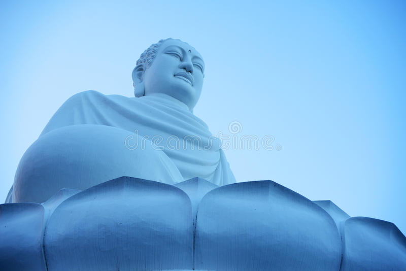 Buda. Against the sky in Nha Trang, Vietnam royalty free stock photo