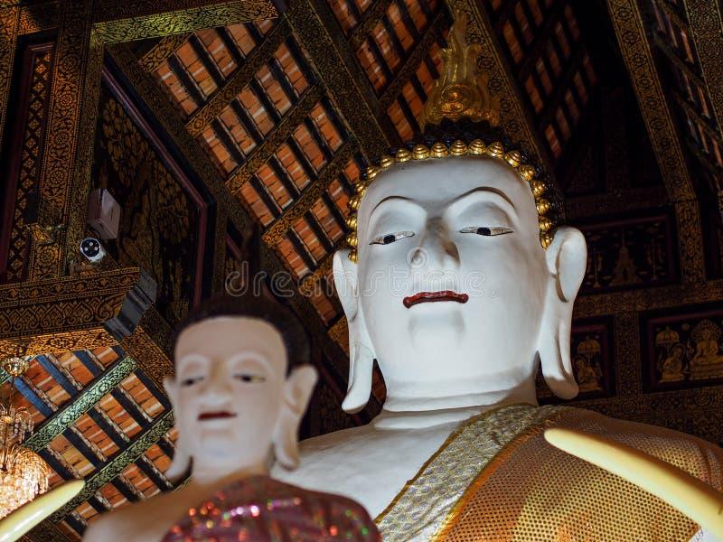 Buda branca imagem de stock royalty free