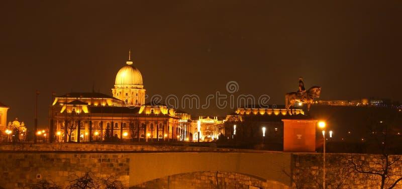 Buda Castle stock photography