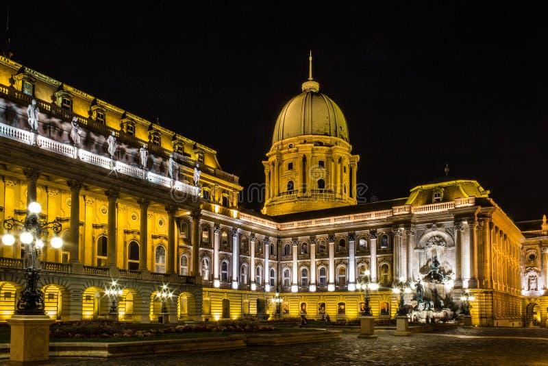 Buda Castle - Budapest lizenzfreie stockfotos