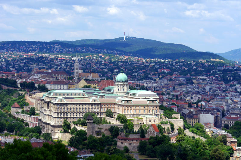 Download Buda Castle, Budapest stock photo. Image of hill, culture - 20446200